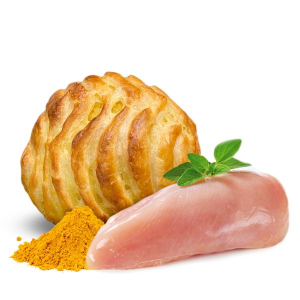 Arancina al Pollo al Curry al Forno